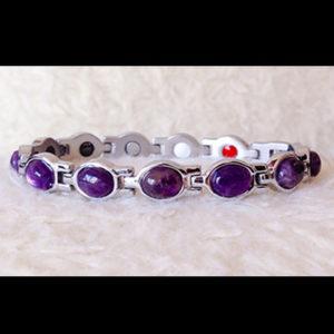 Bracelet amthyste