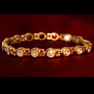 Bracelet Titane plaqué or