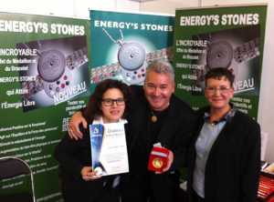 medaille or recompense energysstones geneve